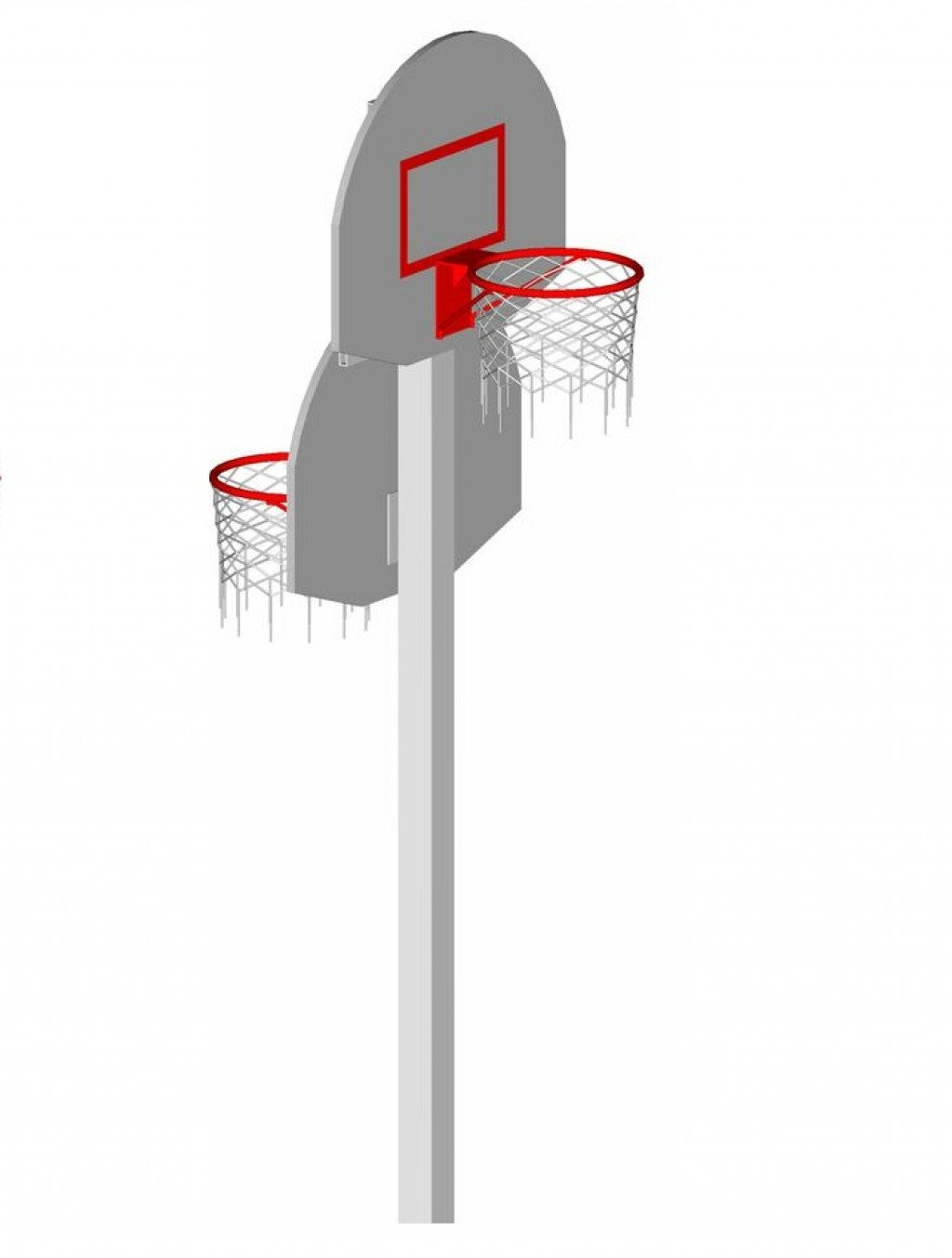 Стойка под баскетбольное кольцо своими руками 21